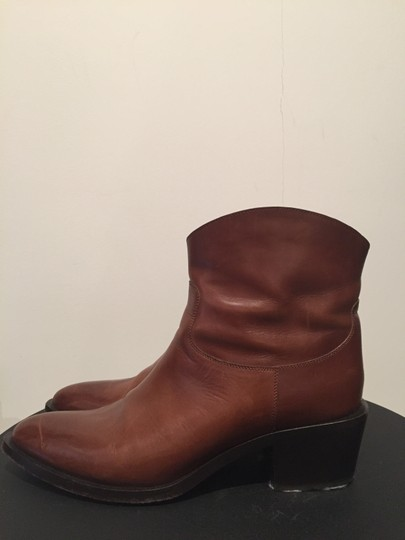 Sartore Western Cowgirl Leather Chic Brown Boots Image 3