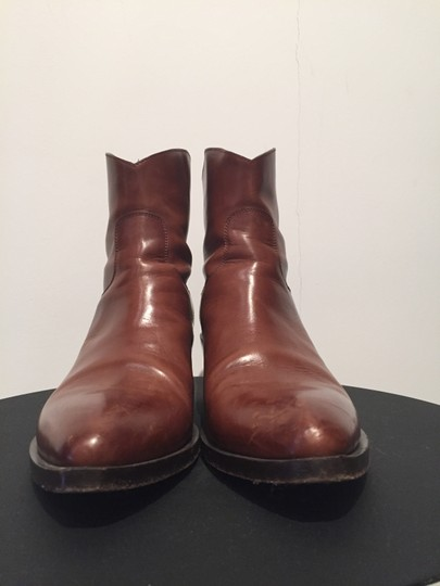 Sartore Western Cowgirl Leather Chic Brown Boots Image 4