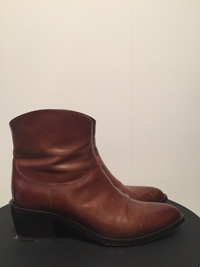 Sartore Western Cowgirl Leather Chic Brown Boots Image 5