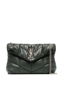 Saint Laurent Small Monogram Crystal Kate Shoulder Bag
