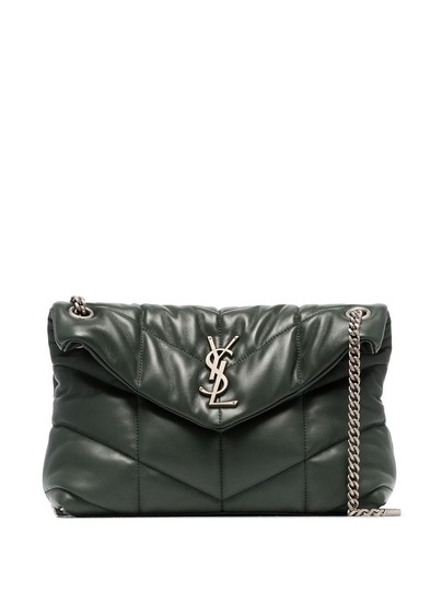 Preload https://img-static.tradesy.com/item/26334510/saint-laurent-monogram-loulou-puffer-green-lambskin-leather-shoulder-bag-0-0-540-540.jpg