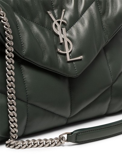 Saint Laurent Small Monogram Crystal Kate Shoulder Bag Image 3