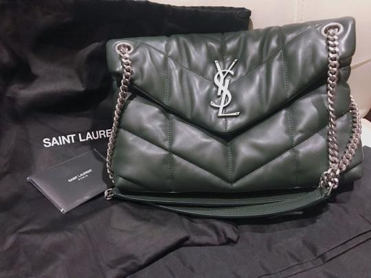 Saint Laurent Small Monogram Crystal Kate Shoulder Bag Image 4