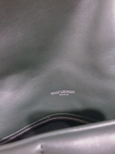 Saint Laurent Small Monogram Crystal Kate Shoulder Bag Image 8
