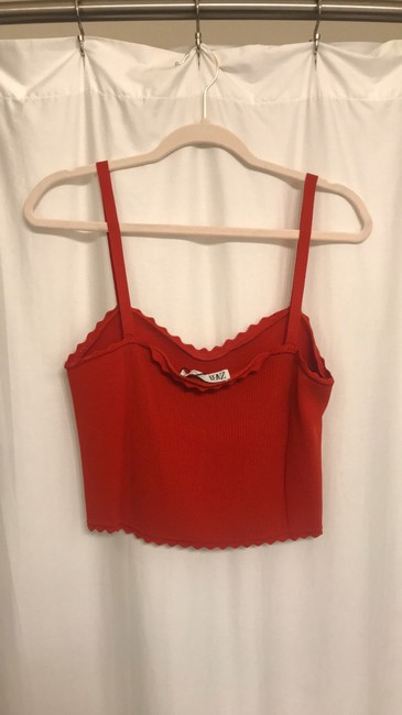 Zara Top red Image 2