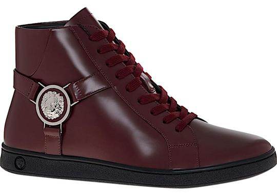 Preload https://img-static.tradesy.com/item/26334514/versus-versace-dark-red-with-tag-lion-head-leather-high-top-sneakers-size-eu-37-approx-us-7-regular-0-5-540-540.jpg