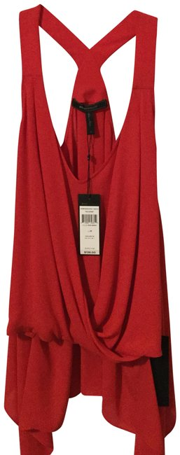 BCBGMAXAZRIA Top Red Image 0