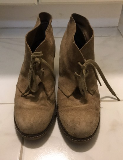 J.Crew Tan Suede Boots Image 1