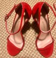 Stuart Weitzman Red Formal