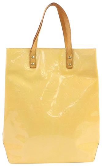 Preload https://item5.tradesy.com/images/louis-vuitton-bag-lead-mm-vernis-2007l14-yellow-tote-26334579-0-2.jpg?width=440&height=440
