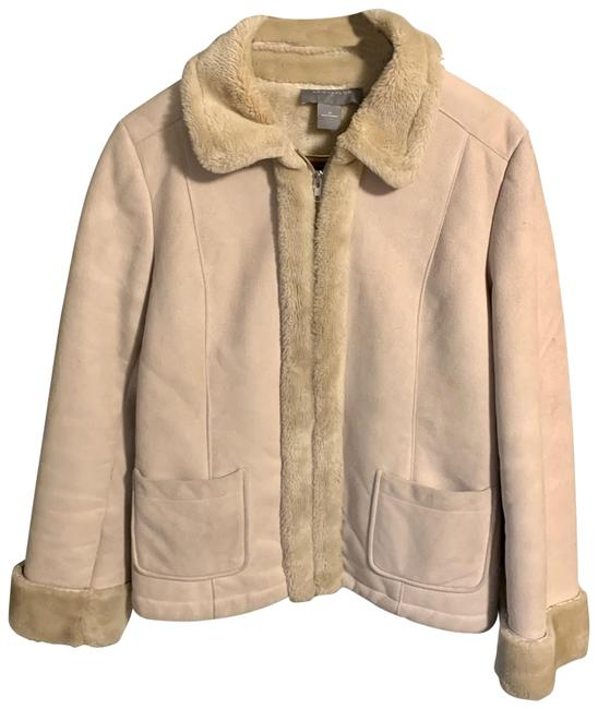 Preload https://img-static.tradesy.com/item/26334588/ann-taylor-beige-medium-fleece-lined-womens-classic-zip-condition-is-pre-owned-shipped-with-usps-pri-0-1-650-650.jpg