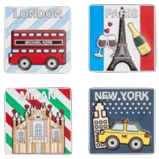 Michael Kors Michael Kors famous Cities Leather Sticker Set Image 7
