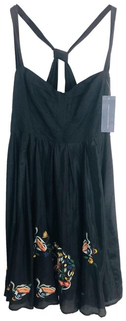 Preload https://img-static.tradesy.com/item/26334611/french-connection-black-embroidered-mid-length-cocktail-dress-size-10-m-0-2-650-650.jpg