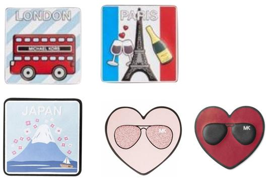Michael Kors Michael Kors famous Cities Leather Sticker Set Image 0