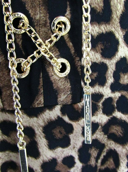 Michael Kors Leopard Chains Dress Image 2
