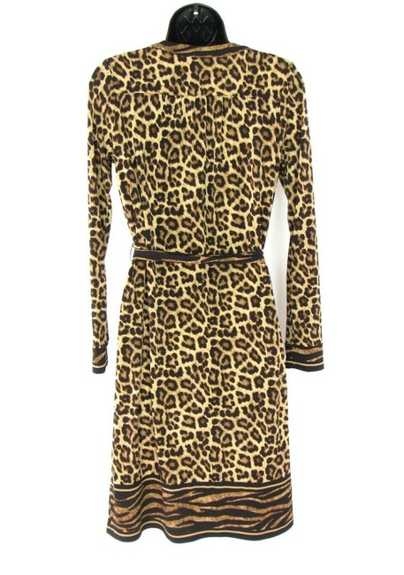 Michael Kors Leopard Chains Dress Image 3