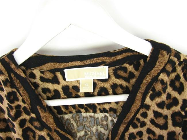 Michael Kors Leopard Chains Dress Image 4