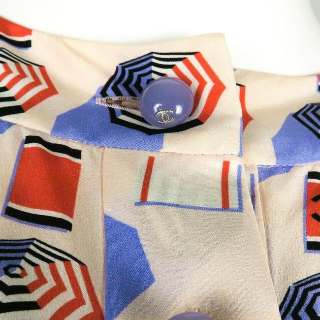 Chanel Top White - Blue - Red Image 2