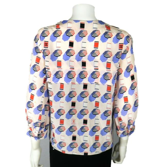 Chanel Top White - Blue - Red Image 8