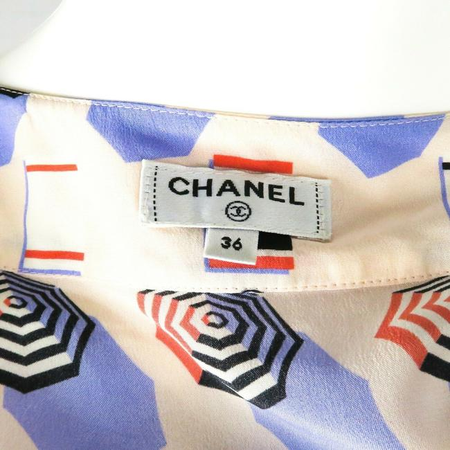 Chanel Top White - Blue - Red Image 9