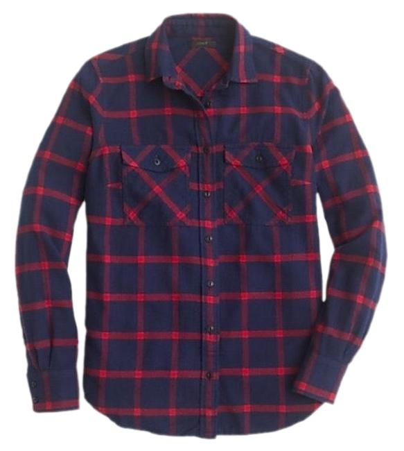 Preload https://img-static.tradesy.com/item/26334650/jcrew-blue-and-red-classic-fit-boy-shirt-in-block-plaid-button-down-top-size-6-s-0-2-650-650.jpg