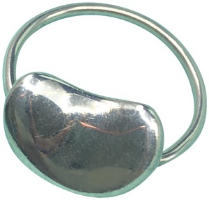Tiffany & Co. TC119 Tiffany & Co. Sterling Silver Peretti Floating LARGE Bean Ring