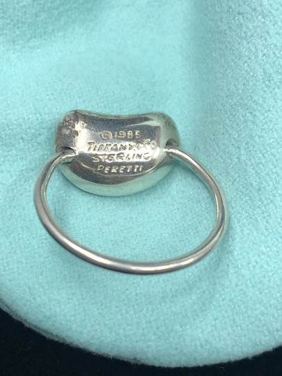 Tiffany & Co. TC119 Tiffany & Co. Sterling Silver Peretti Floating LARGE Bean Ring Image 2