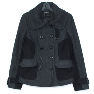 Guess Peacoat Wool Gray Jacket