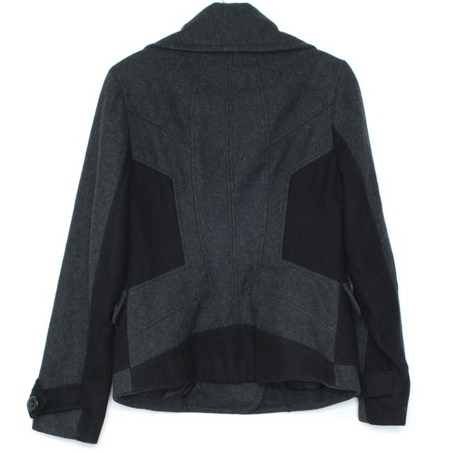 Guess Peacoat Wool Gray Jacket Image 1