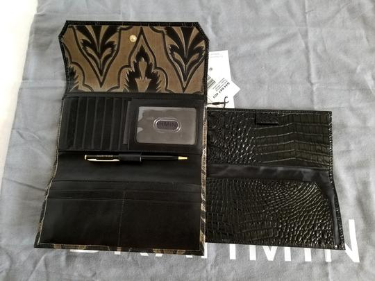 Brahmin BRAHMIN TAUPE MIRAGE LEATHER SOFT CHECKBOOK WALLET NWT Image 1