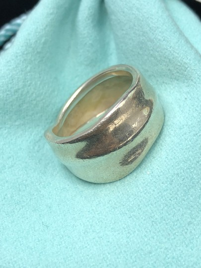 Tiffany & Co. TC086 Tiffany & Co. Leaf Band Nature Ring Leaves Size 6 Silver Image 1