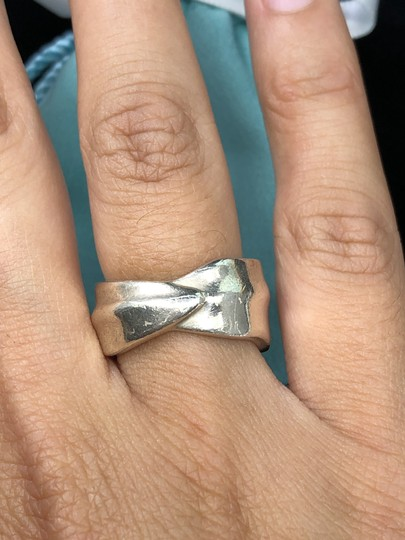 Tiffany & Co. TC086 Tiffany & Co. Leaf Band Nature Ring Leaves Size 6 Silver Image 2