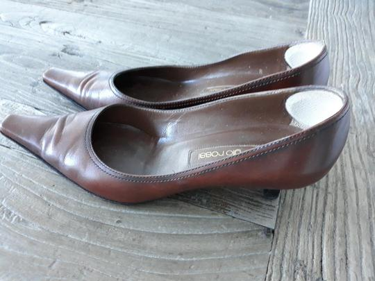 Sergio Rossi Chocolate Brown Pumps Image 1