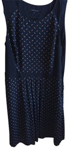 Tommy Hilfiger short dress Navy and multi colored on Tradesy