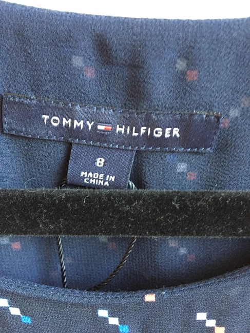 Tommy Hilfiger short dress Navy and multi colored on Tradesy Image 2