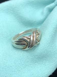 Tiffany & Co. TC065 Tiffany & Co. Signature X Ring Size 4 Sterling Silver 925 Women