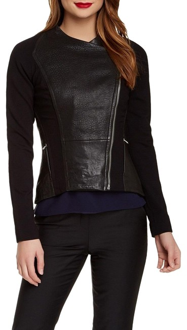 Item - Black London Meyaa Paneled New Jacket Size 6 (S)