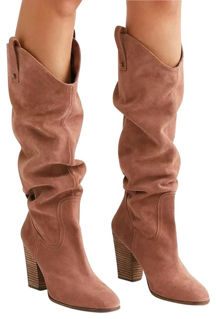 Item - Ramblin Rose Southern Star Suede Slouch Boots/Booties Size EU 41 (Approx. US 11) Regular (M, B)