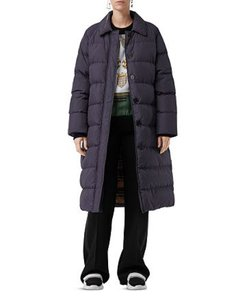 Burberry Long Down Quited Coat