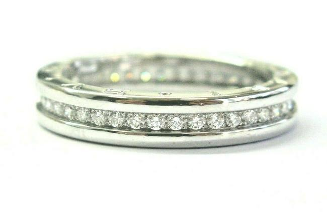 Item - White Gold B.zero 1 Diamond 18kt Size 62 Us 10 .80ct Ring