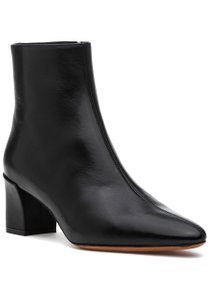 Vince Pointed Toe Heel Black Boots
