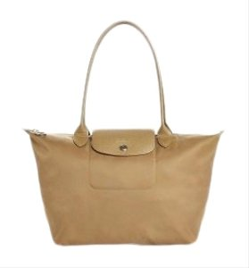 Longchamp Tote in Gold