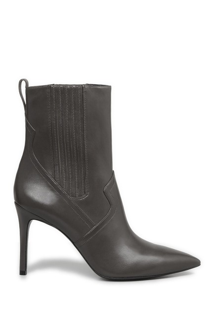 Item - Mink Grey Leather Pump Pointy Toe Heel (M33) Boots/Booties Size EU 38.5 (Approx. US 8.5) Regular (M, B)