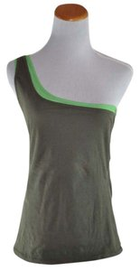 Chaiken Top Multi Lime Green /Olive Green