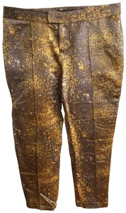 SUNO Capris browns and golds
