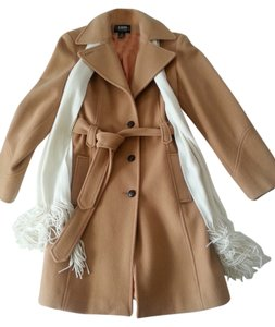 B. Moss Wool Classic Business Neutral Timeless Versatile Trench Coat
