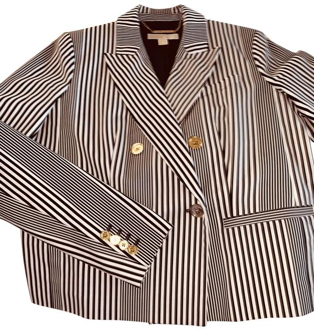 Item - Black/White Double-breasted Pant Suit Size 8 (M)