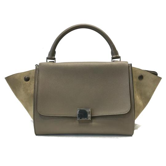 Preload https://img-static.tradesy.com/item/26341318/celine-trapeze-small-souris-leather-and-suede-shoulder-bag-0-0-540-540.jpg
