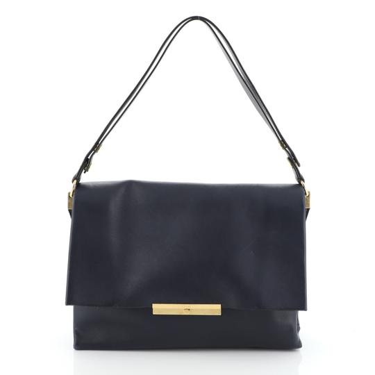Preload https://img-static.tradesy.com/item/26341664/celine-blade-blue-leather-shoulder-bag-0-0-540-540.jpg