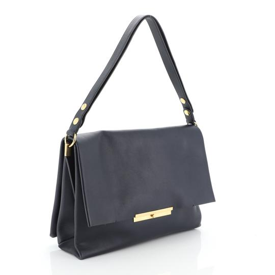 Céline Leather Shoulder Bag Image 1